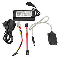 Адаптер SATA/IDE на USB 2.0 (коробка), фото 1