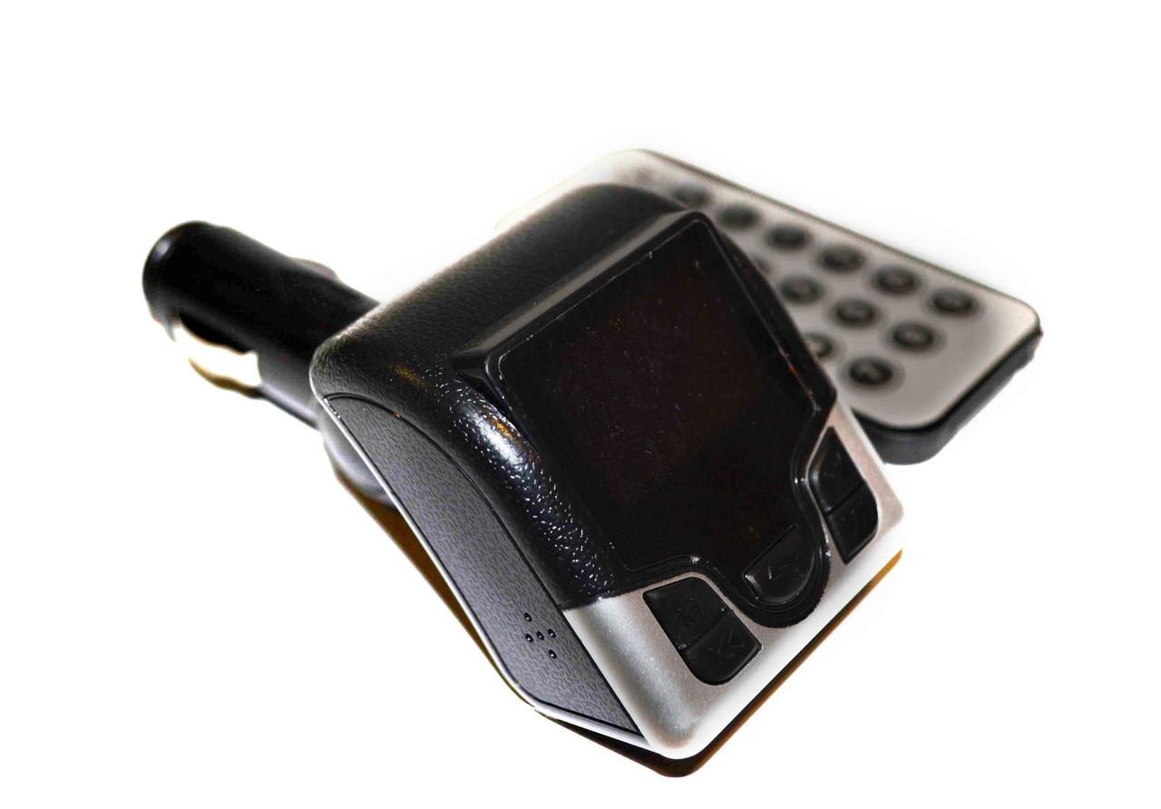 Автомобільний FM-модулятор YC-506BT Bluetooth