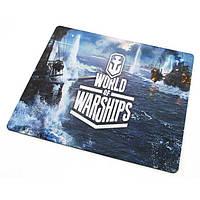 Коврик для мышки World of ships 1 (25*29*0.2), тканевые коврики, поверхность для лазерной мыши