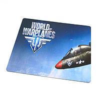 Коврик для мышки World of warplanes №1 (25*29*0.2), тканевые коврики, поверхность для лазерной мыши