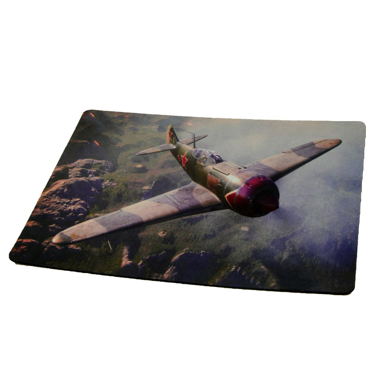 Коврик для мышки World of warplanes №4 (25*29*0.2), тканевые коврики, поверхность для лазерной мыши