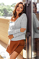 Пуловер с капюшоном Gepur 26938