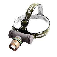 Фонарик на лоб | Налобный фонарь Bailong Police BL-6866 XPE