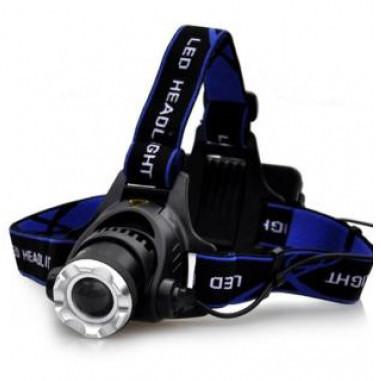 Фонарик на лоб | Налобный фонарь Bailong Police BL-6699-T6