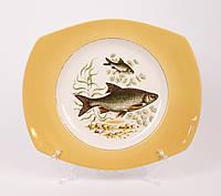 Антикварная тарелка блюдо FIGGJO FLINT Норвегия 60-е, фото 1