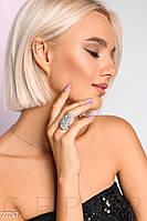 Женское кольцо-листик Gepur 27247
