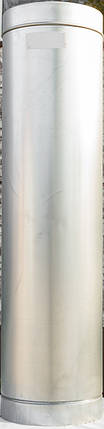 Труба дымоходная L 1000 мм нерж/оц стенка 0,5 мм 130/200, фото 2