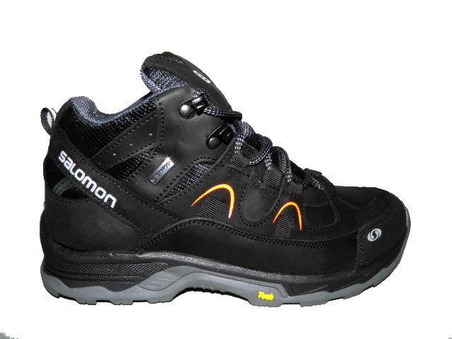 Ботинки * Salomon S-1 черн/оранж  *24515