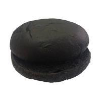 Булочка для гамбургера черная 70