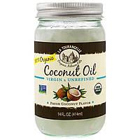 La Tourangelle, Натуральное кокосовое масло, первого отжима, нерафинированное, 14 жидких унций (414 мл), фото 1