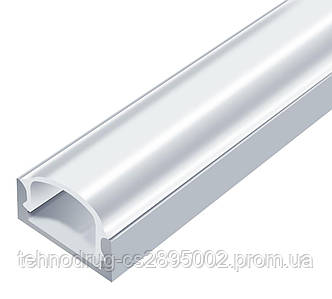 Алюминиевый Профиль PROLUM™ - Накладной, Анодированный (Комплект)