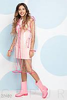 Прозрачный женский дождевик Gepur 27480