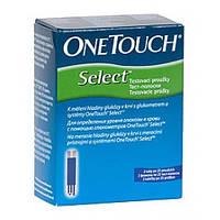 Тест-полоски One Touch Select 25шт