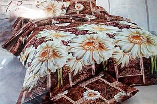 Комплект постельного белья от украинского производителя Polycotton Полуторный T-90961, фото 3