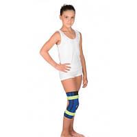 Бандаж детский на коленный сустав с пружинными ребрами жесткости Т-8506Д
