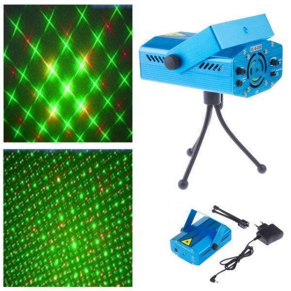 Диско лазеры | Проектор лазерный для шоу | Лазерный проектор Laser XL-D09 (6 рисунков (6G))