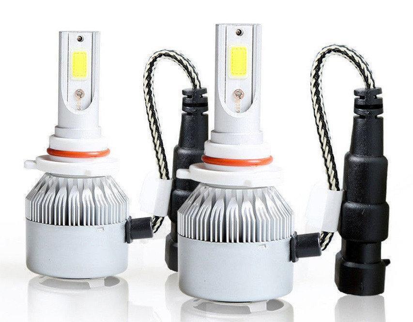 Автомобильные лампы   Комплект автомобильных LED ламп C6 в туманки 9005