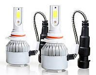Автомобильные лампы   Комплект автомобильных LED ламп C6 в туманки 9005, фото 1