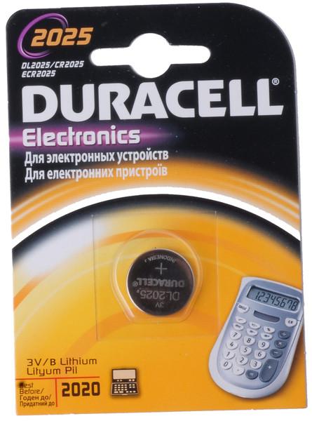 Батарейка Duracell DL2025 DSN 1 шт.