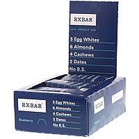 RXBAR, Протеиновые батончики, черника, 12 батончиков, 52 г (1,83 унции) каждый, фото 1