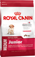 Сухой корм для собак Royal Canin Medium Junior  4 кг для ср.собак от 2 мес. до 12 мес.