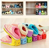 Пластиковые подставки для обуви | Органайзер для обуви | Подставки для обуви Shoes Holder 6 штук