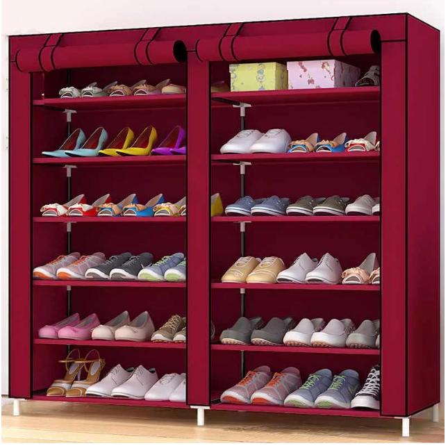 Органайзер для хранение вещей | Складные шкафы из ткани | Тканевый шкаф для обуви T-2712