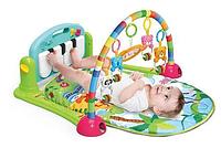 Развивающие коврики для малышей   Детский развивающий музыкальный коврик Piano Fitness Rackhe зеленый