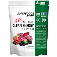MRM, Энергетический порошок чистая энергия, фруктовый пунш, 4,2 унц. (120 г)