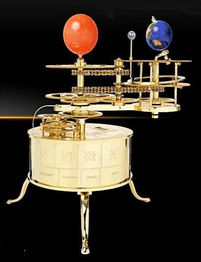 Теллурий механическая модель Солнечной Системы