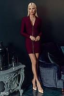 Облегающее платье на молнии Gepur 29047