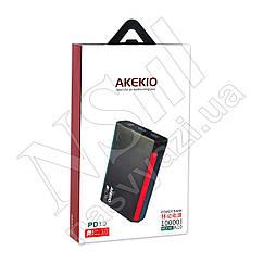 Дорожная зарядка Power Bank AKEKIO K10 (QC3.0PD3.0) 10000mAh