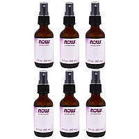 Now Foods, Empty 2 fl oz Amber Glass Bottle + Spray Lid, 1 bottle