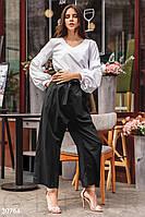 Укороченные широкие брюки Gepur 30764
