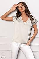 Женская шелковая блуза Gepur 30803