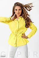 Стильная удлиненная рубашка Gepur 30809