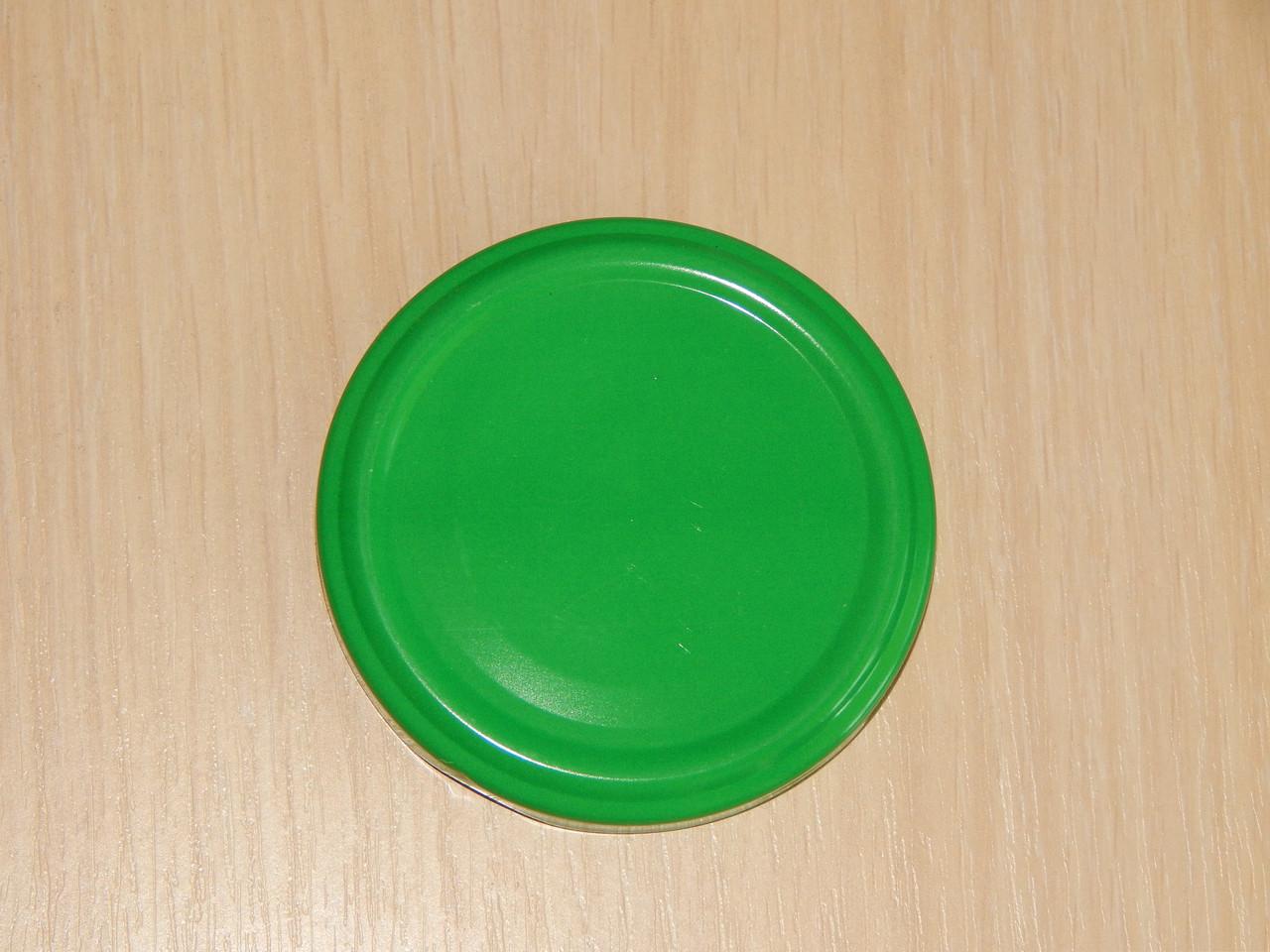 Крышка закаточная твист-офф размер 66 мм зелёная