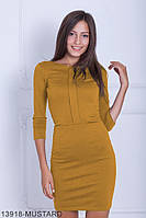 Чарівне приталені плаття з кишенями з французького трикотажу Tigridil