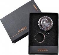 """Электронная USB Зажигалка-брелок """"GLBIRD"""" №310032 - сверкающий дизайн, высокая функциональность"""