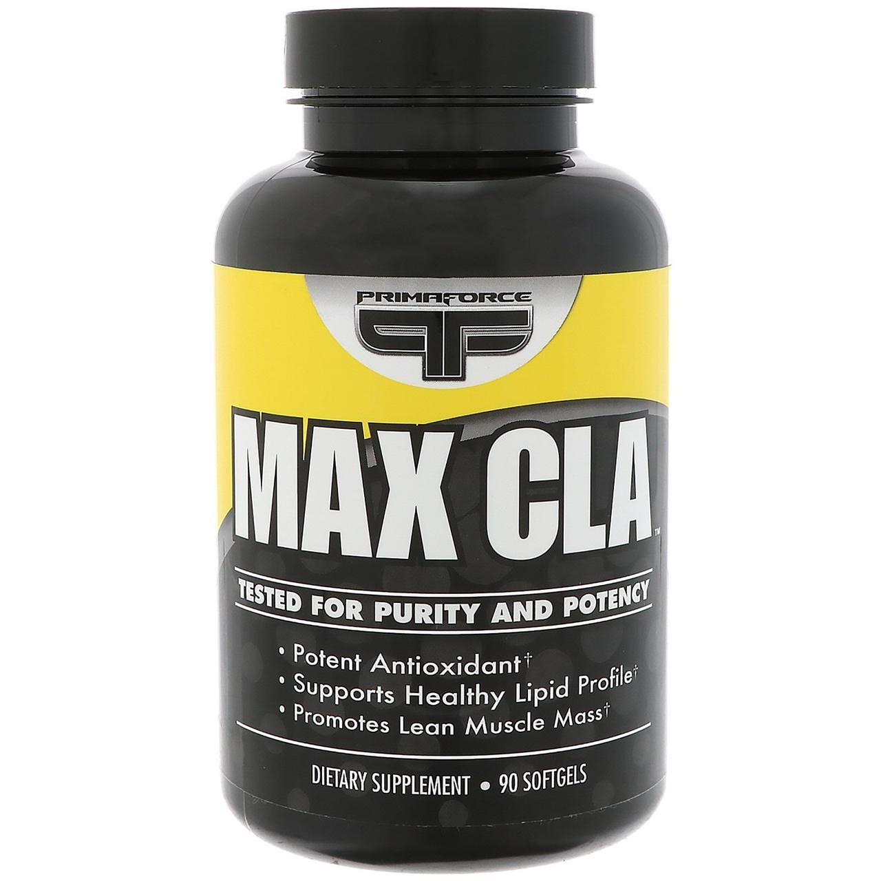 Primaforce, Max CLA,  90 softgels