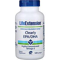 Life Extension, Исключительно ЭПК/ДГК, 120 мягких таблеток