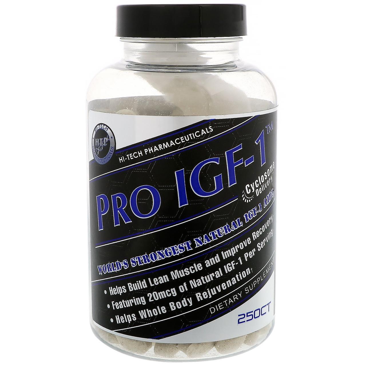 Hi Tech Pharmaceuticals, Pro IGF-1, 250 таблеток