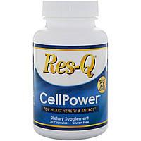 Res-Q, CellPower, в 2 раза больше коэнзима Q10, 30 капсул, фото 1