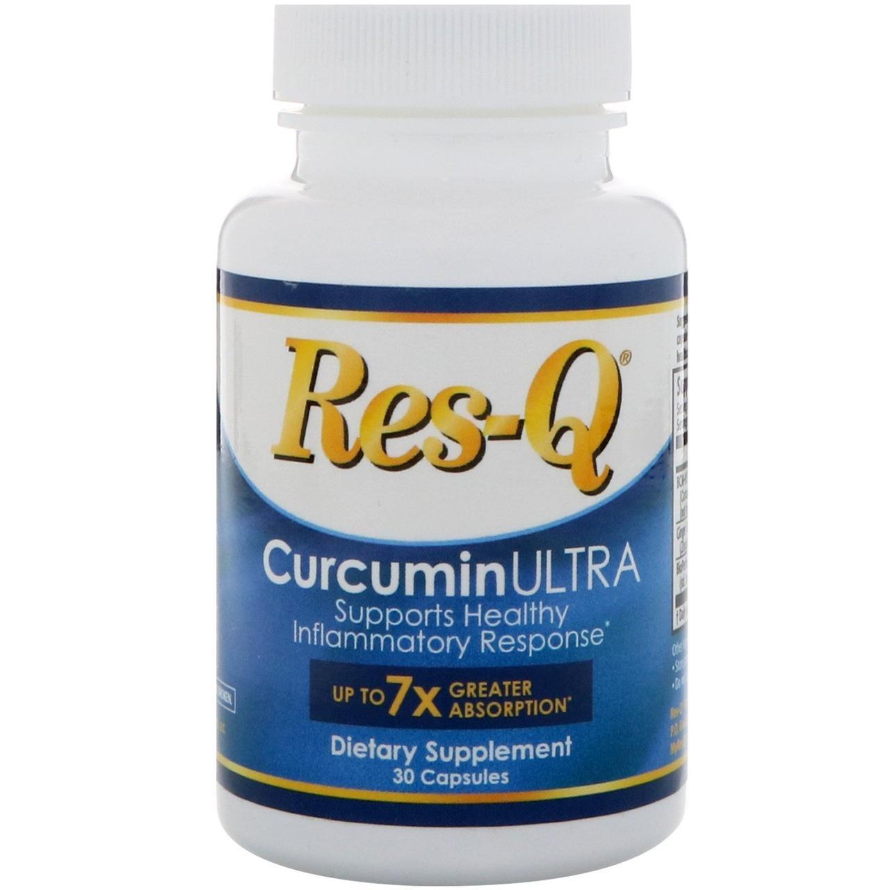 Res-Q, CurcuminULTRA, 30 капсул