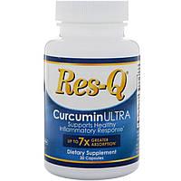 Res-Q, CurcuminULTRA, 30 капсул, фото 1