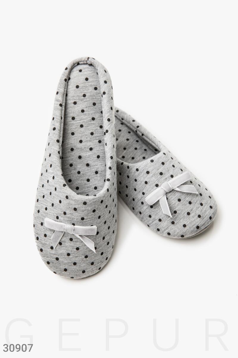Комфортные тапочки-слиперы Gepur 30907