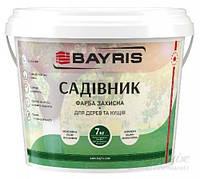 Краска Bayris для деревьев, кустов белый 7кг