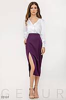 Приталенная юбка-миди Gepur 32131