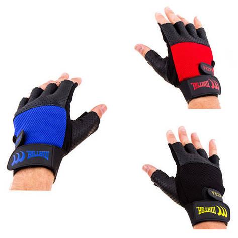 Перчатки вело,фитнес Matsa Sareno, M, L, XL, цвета в ассортименте, фото 2