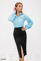 Блуза с объемными рукавами Gepur 32164